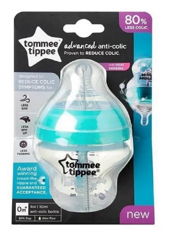 Mamadeira Advanced Anti Cólica 150ml - Tommee Tippee